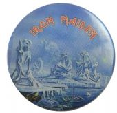 Iron Maiden - 'Ice Eddie' 32mm Badge